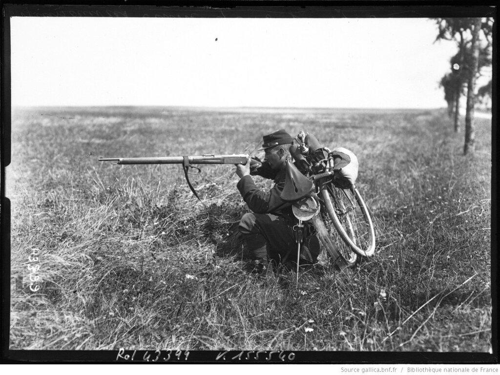 Франция, маневры  в сентябре 1908