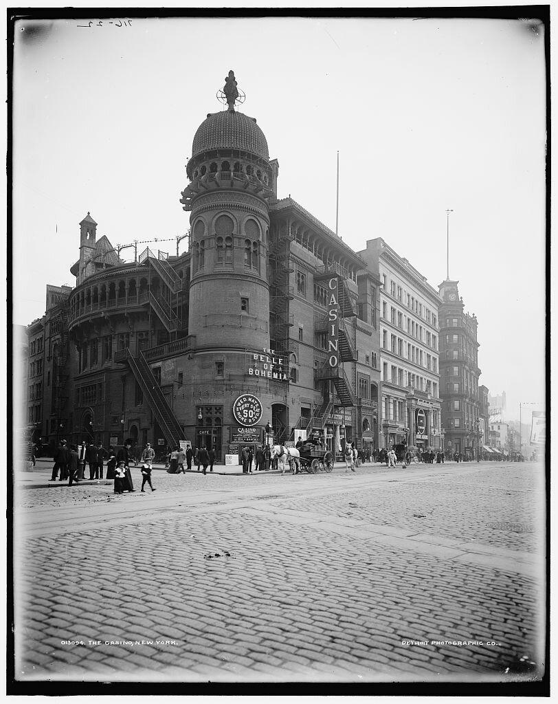 Casino Theatre, New York 1900