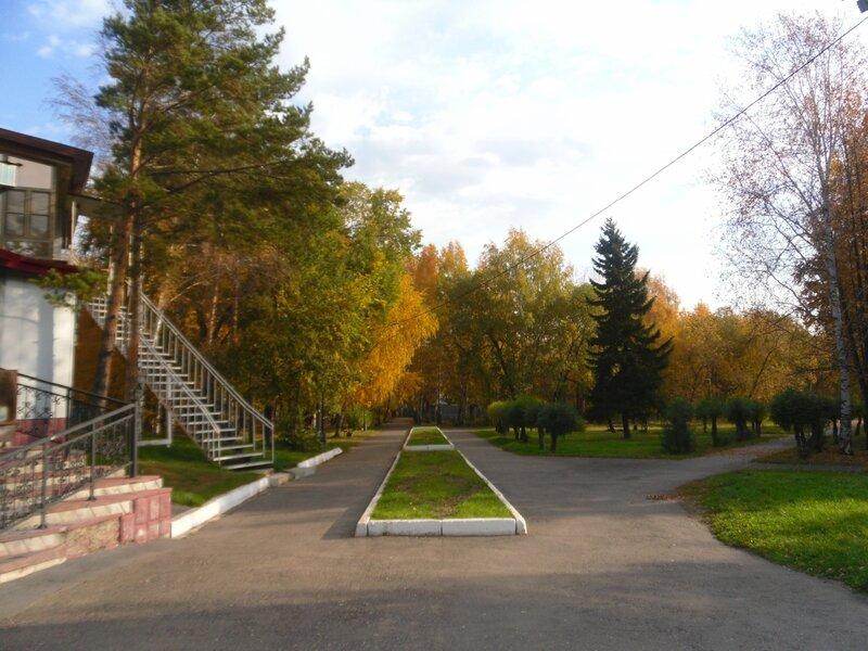 Парк Пушкина в Юрге