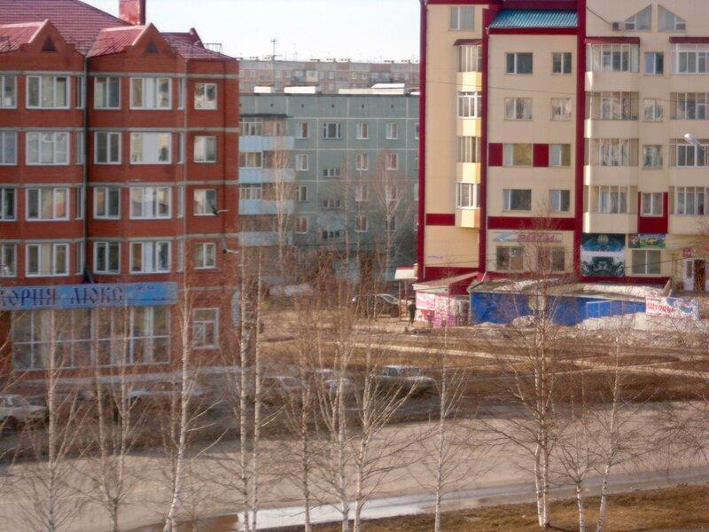 Юрга, пр. Победы, 2 апреля 2012 г.
