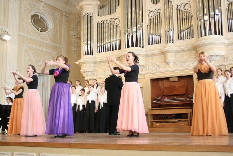 Проект с хором Аничкого дворца