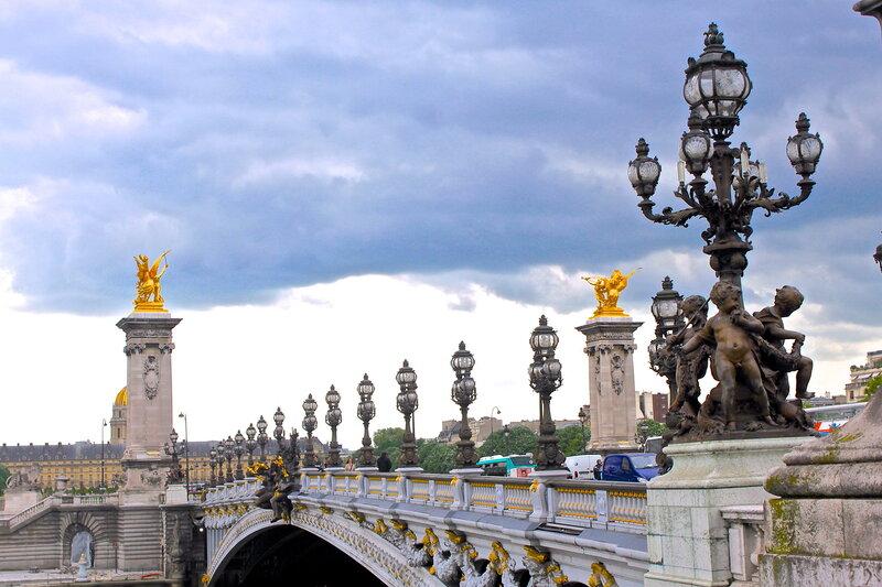Мост Александра III .