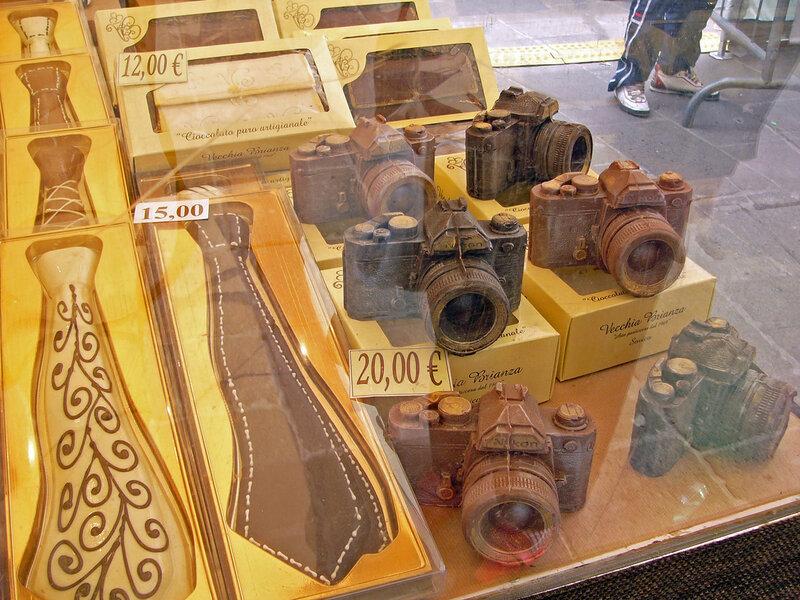 Шоколадные фотоаппараты