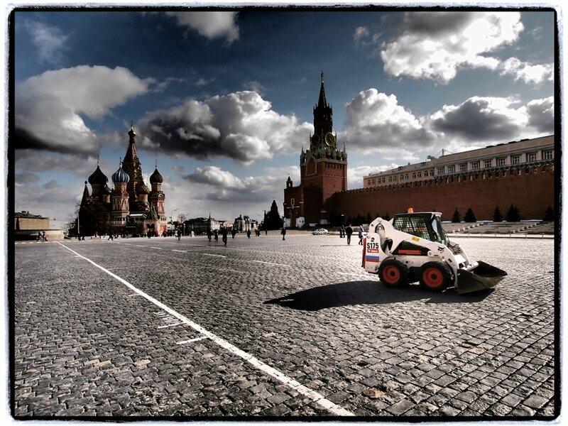 Весна на Красной площади