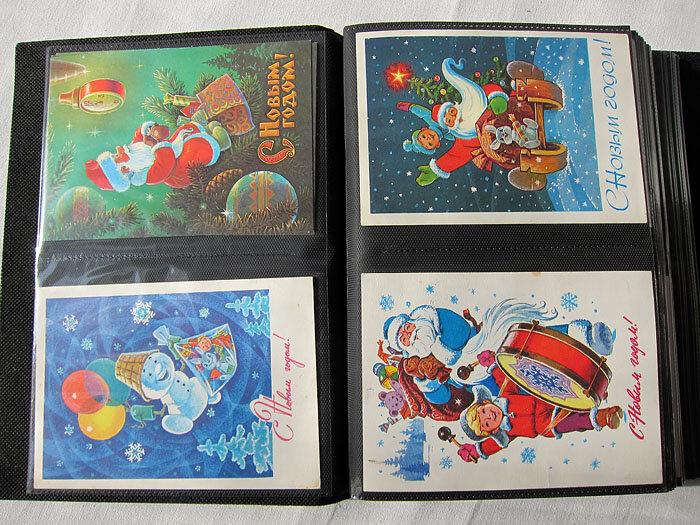 Расскрывающиеся альбомы открытки