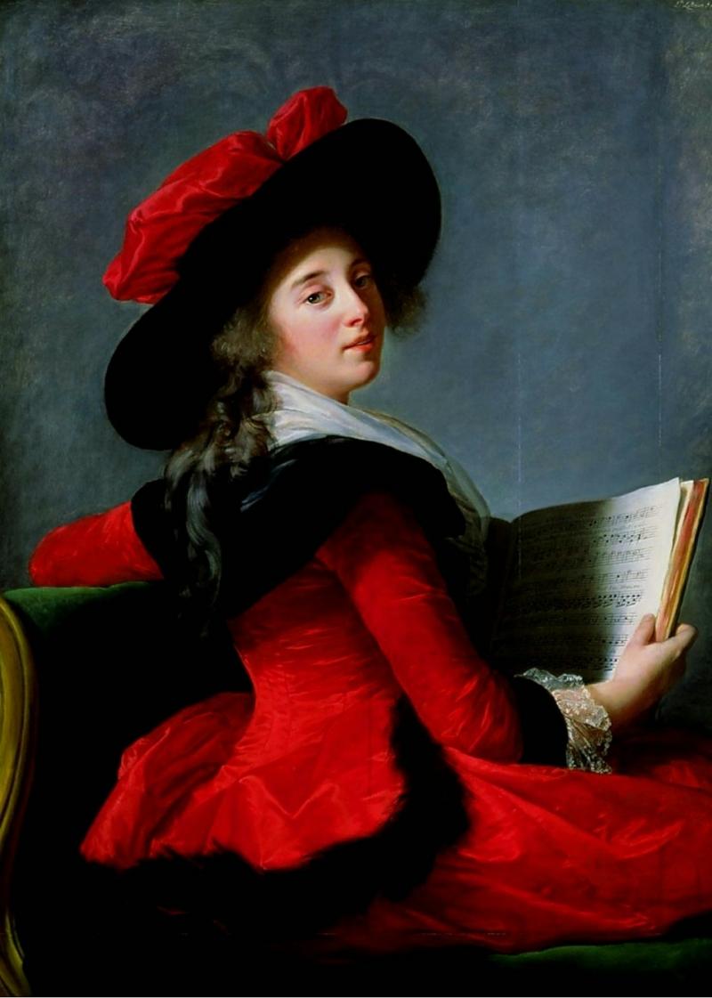 La Baronne de Crussol ,1785