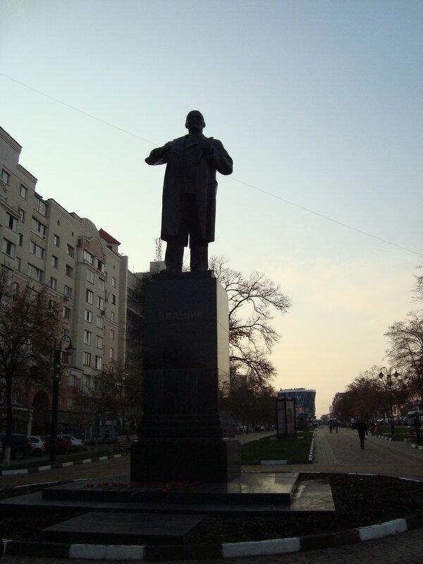 Белгород. Памятник В.И.Ленину на Народном бульваре