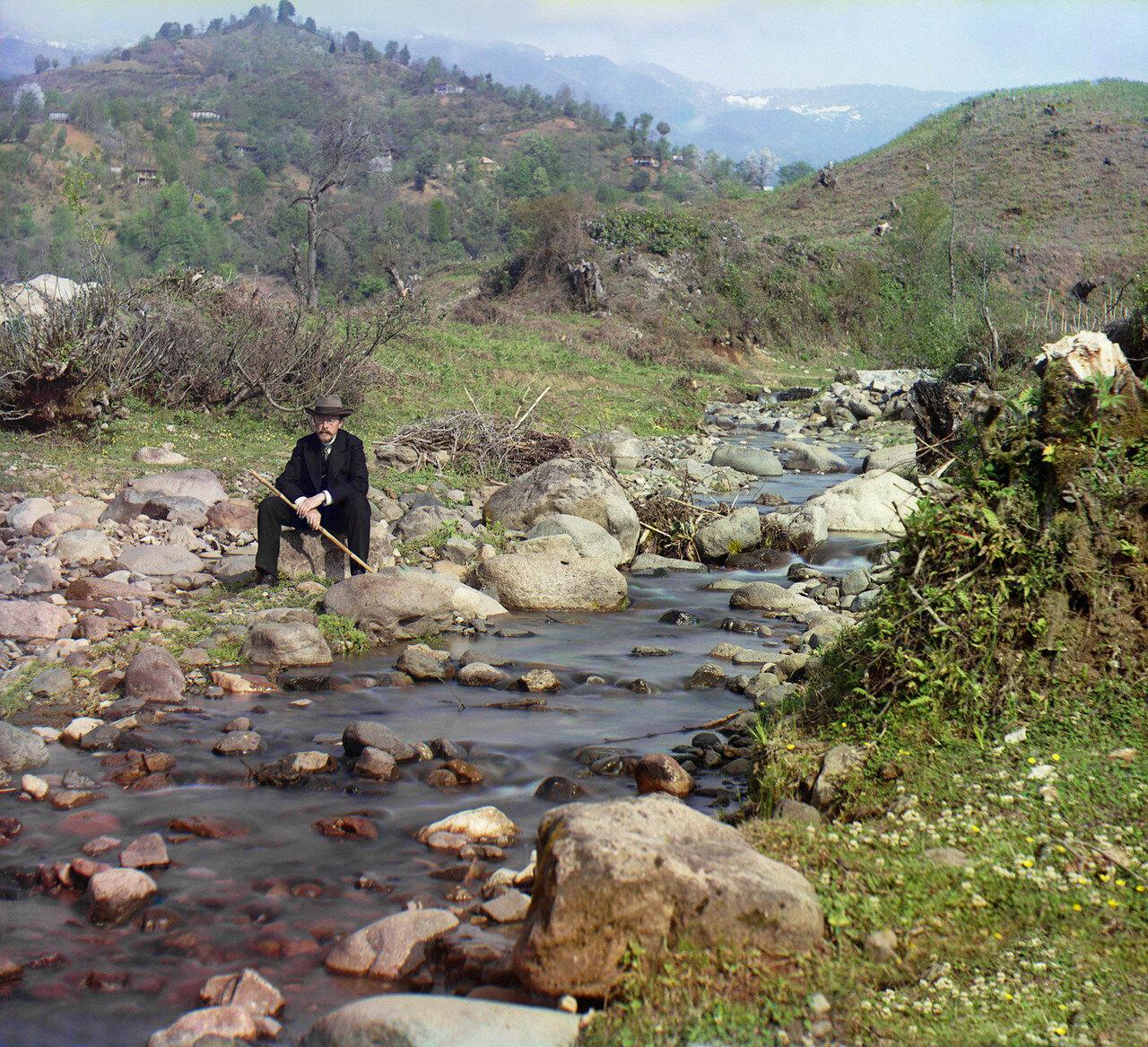 Окрестности Батума. На реке Скурицхали