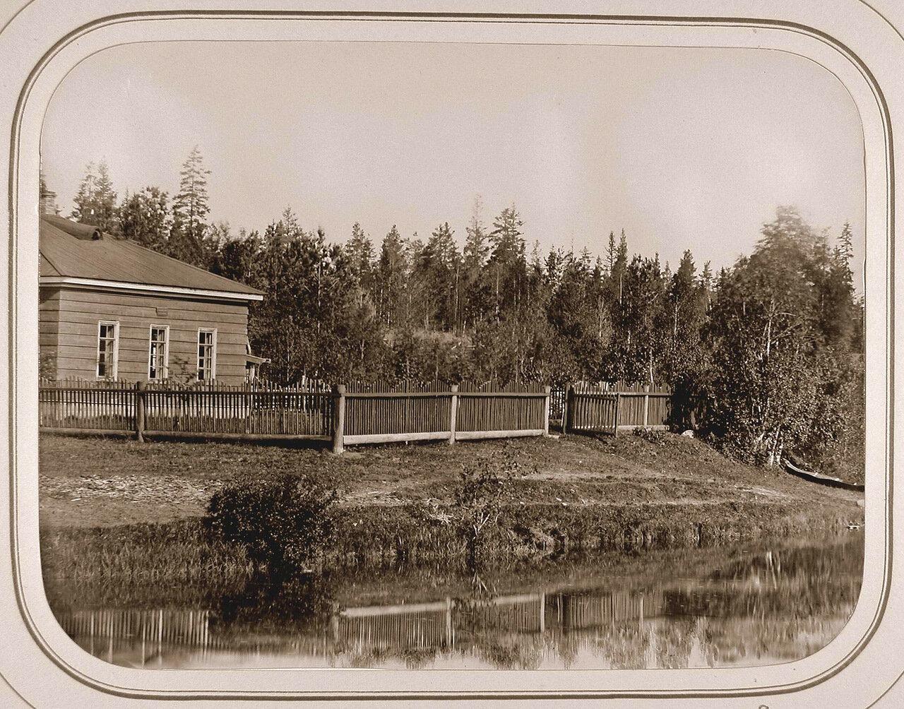 Вид на дом начальника дистанции при Пензенском шлюзе