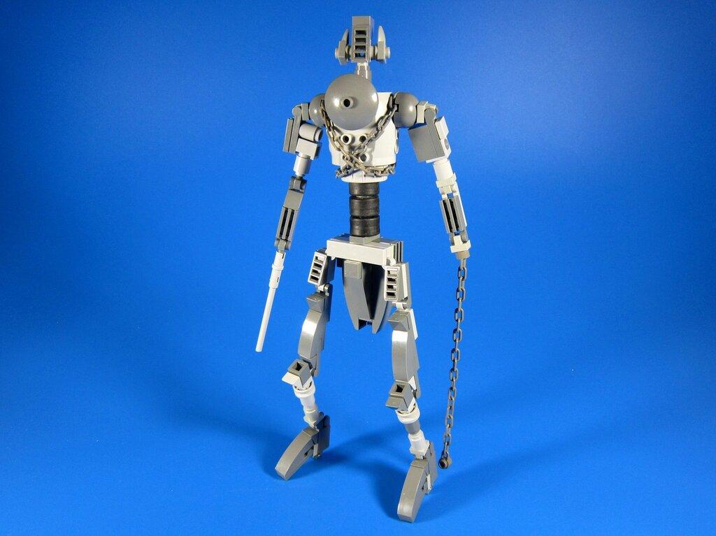 Как сделать робота для боев из лего