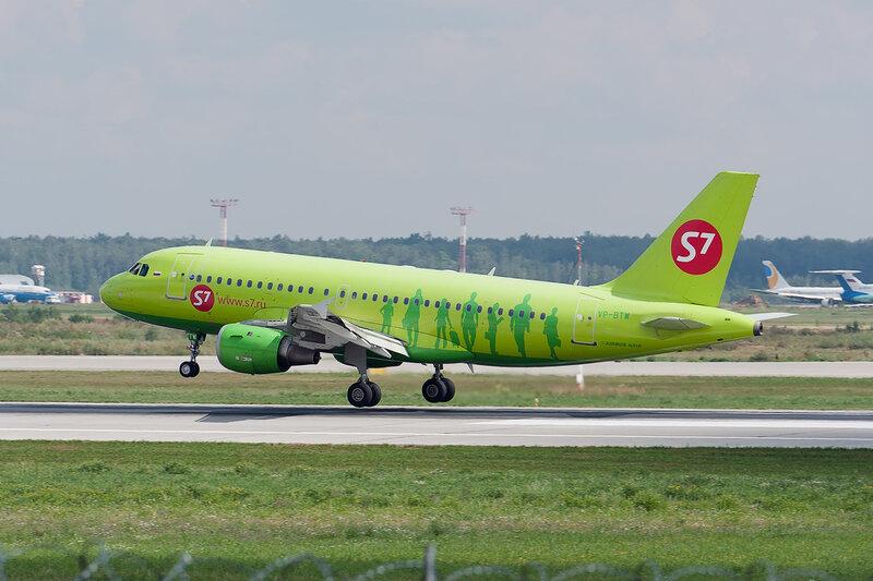 Airbus A319-114 (VP-BTW) S7 DSC2929