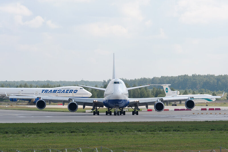 Boeing 747-446 (EI-XLB) Трансаэро DSC2933