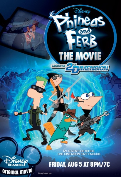 ����� � ����: ��������� ������� ��������� / Phineas and Ferb the Movie: Across the 2nd Dimension (2011) DVD9/DVD5/DVDRip