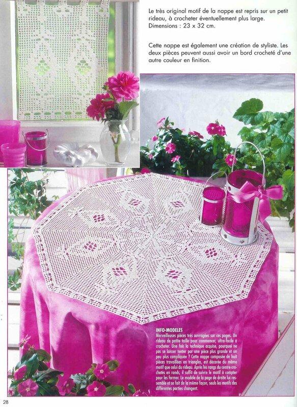 Elena Ouvrages Crochet Filet - №29 - 2004