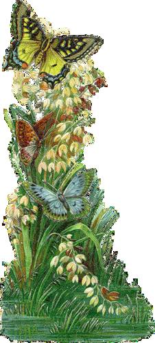 """таблица цветов.  Автор схемы  """"Цветы и бабочки """". схема.  0. оригинал.  Картинки.  Размеры: 86 x 190 крестов.  BiataV."""