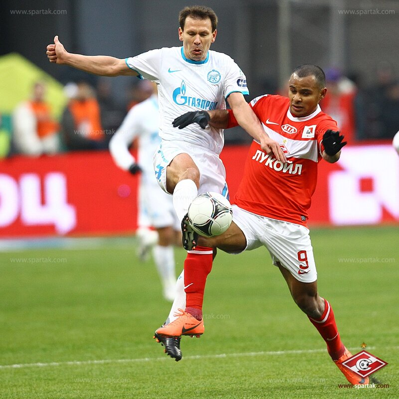 «Спартак» vs «Зенит» 1:2 Премьер-лига 2011-2012 (Фото)