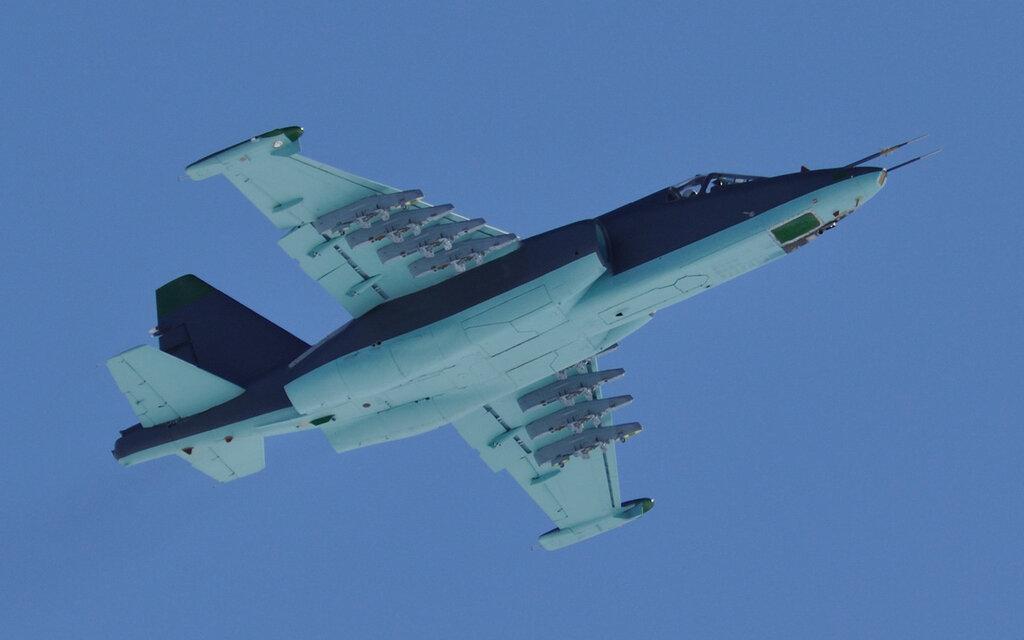 новая схема окраски Су-25?