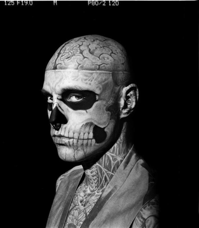 Рик Дженест (Rick Genest) Zombie Boy