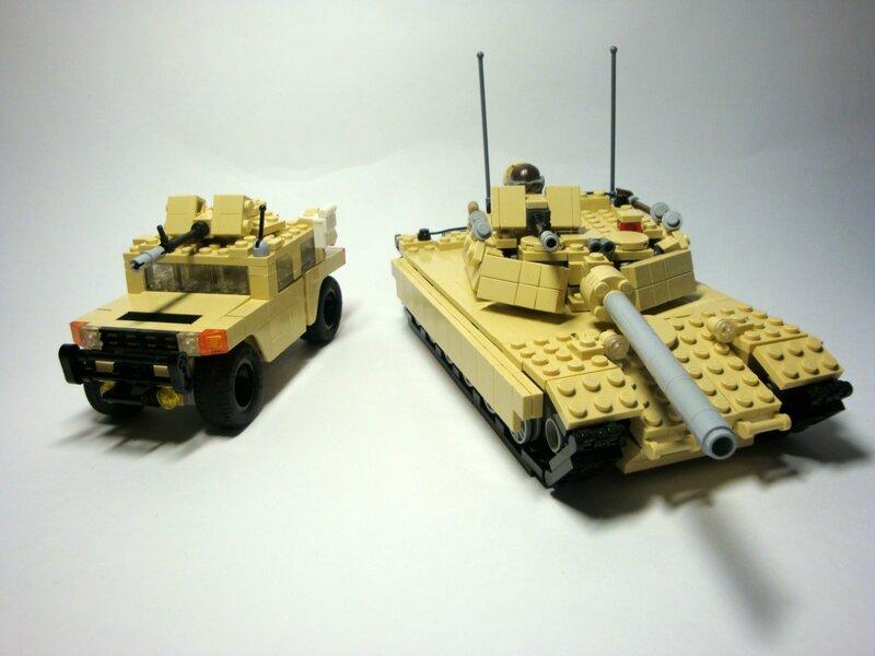 Как Сделать Танк Из Лего Инструкция