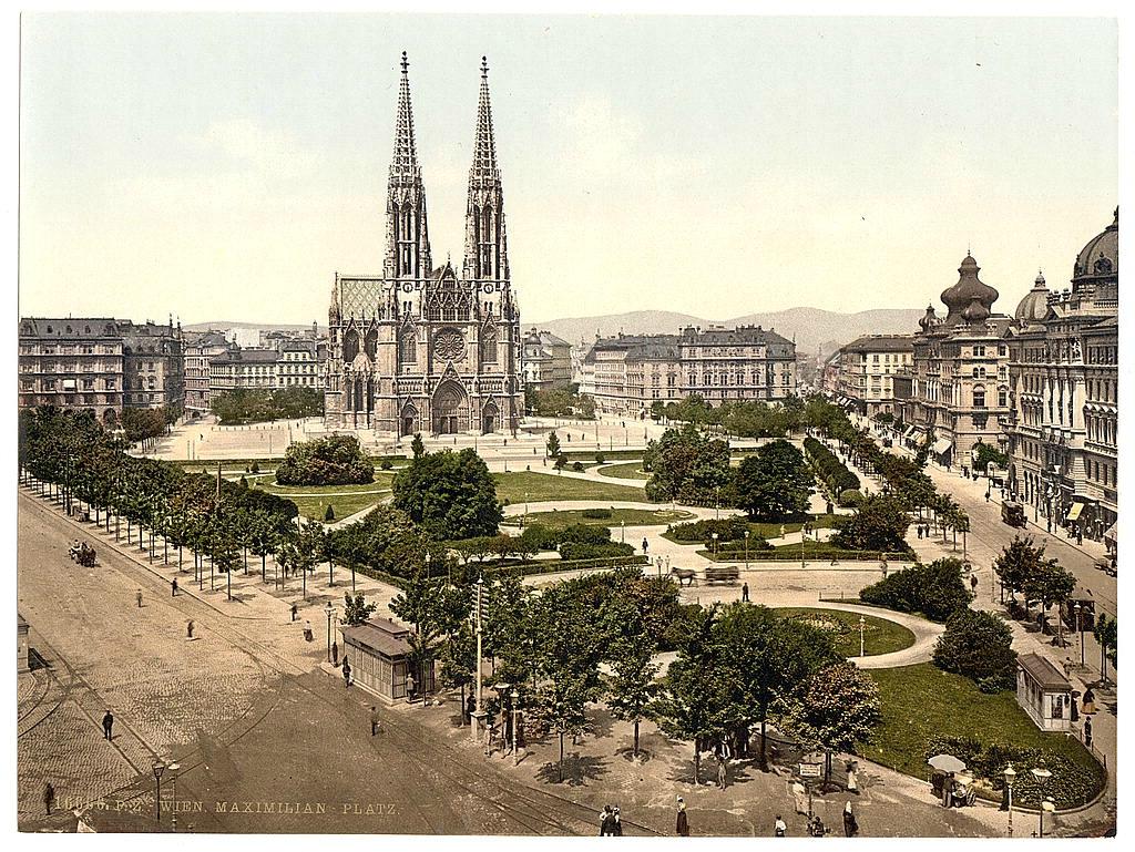 Вена в 1890 - 1900 годах. 0_6038c_ed2ca5be_orig