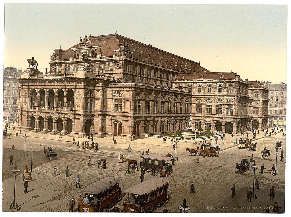 Вена в 1890 - 1900 годах. 0_6039b_644739ad_orig