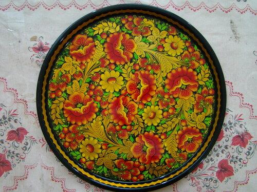 Киевская роспись тарелок