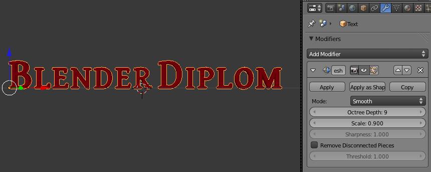 blender модификатор