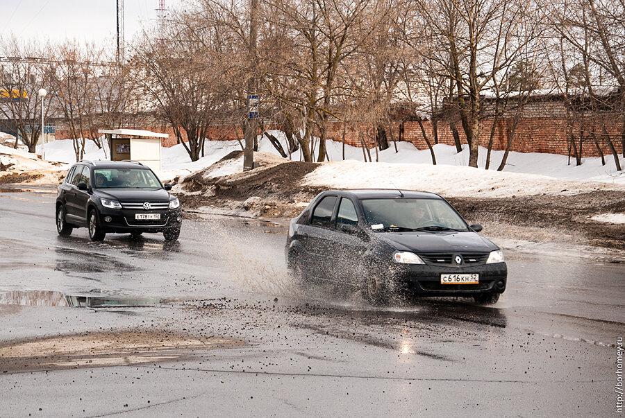 состояние дорог в Сарове