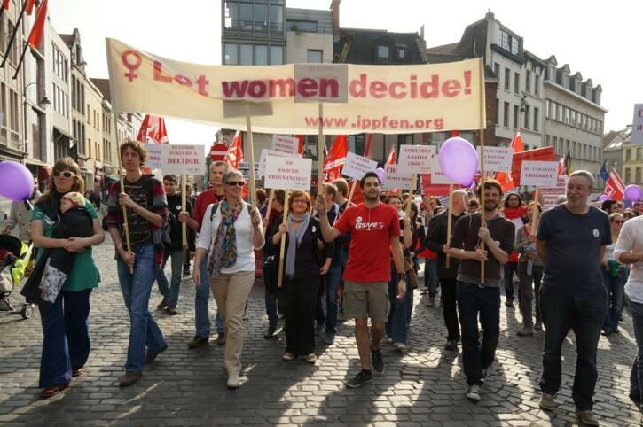 прочойсеры в Брусселе, март 2012
