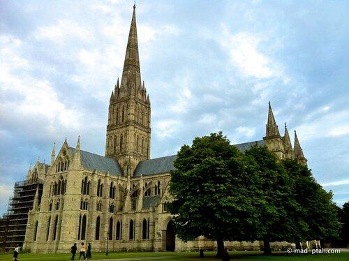 кафедральный собор, солсбери, англия