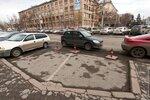 Нелегальные парковки в центре Красноярска