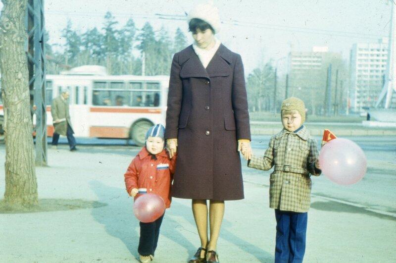 Свердловск, предположительно 1 мая 1979 г.