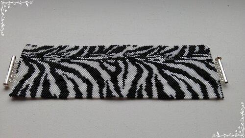 Копия браслета Classic Zebra