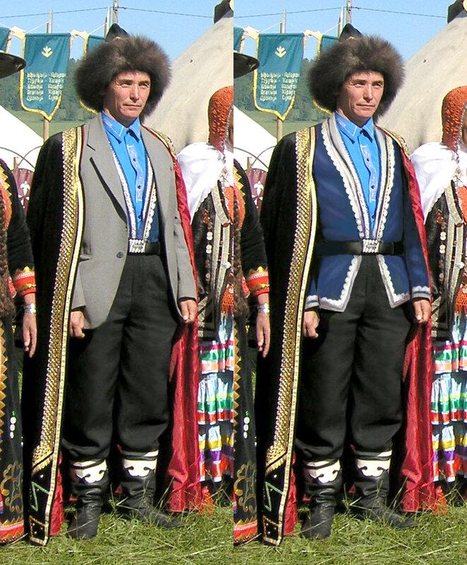 народный башкирский костюм