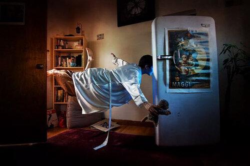 Полет к холодильнику