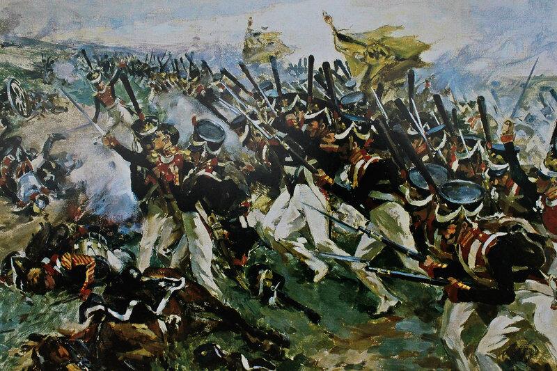 когда картинки начало бородинского сражения всего