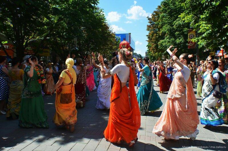 Ратха-Ятра, Саратов, проспект Кирова, 05 июля 2015 года