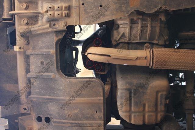 Удаление катализатора Lancer 9