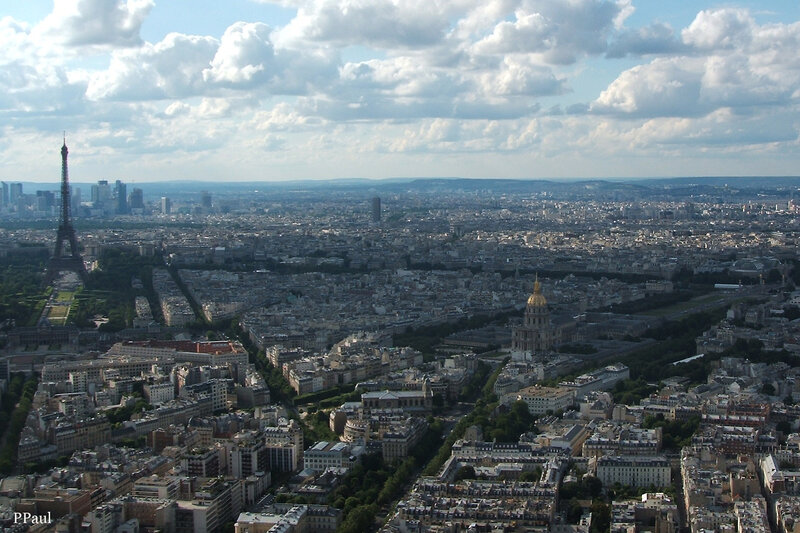 Париж, Париж, Париж.....вид с башни Монпарнас