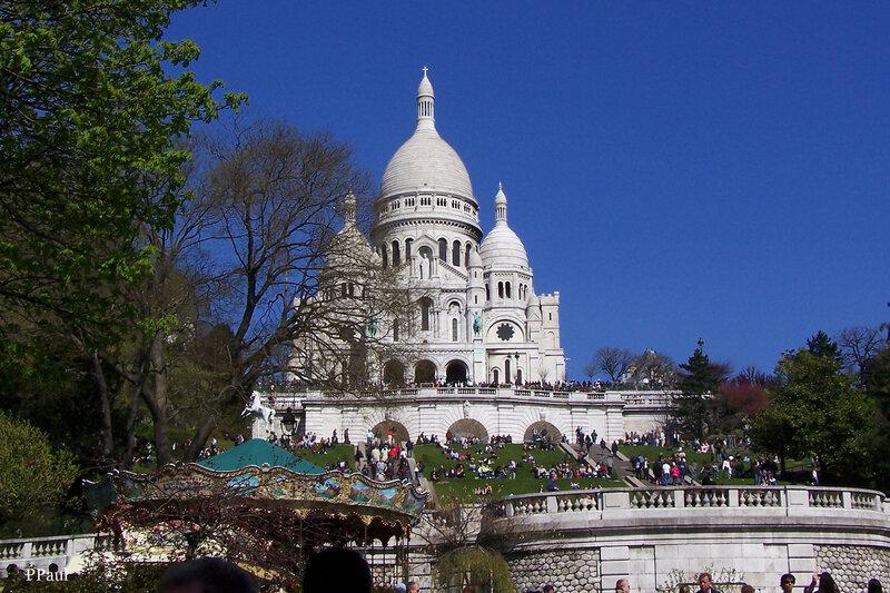 Париж 2008 Базилика Сакре - Кёр