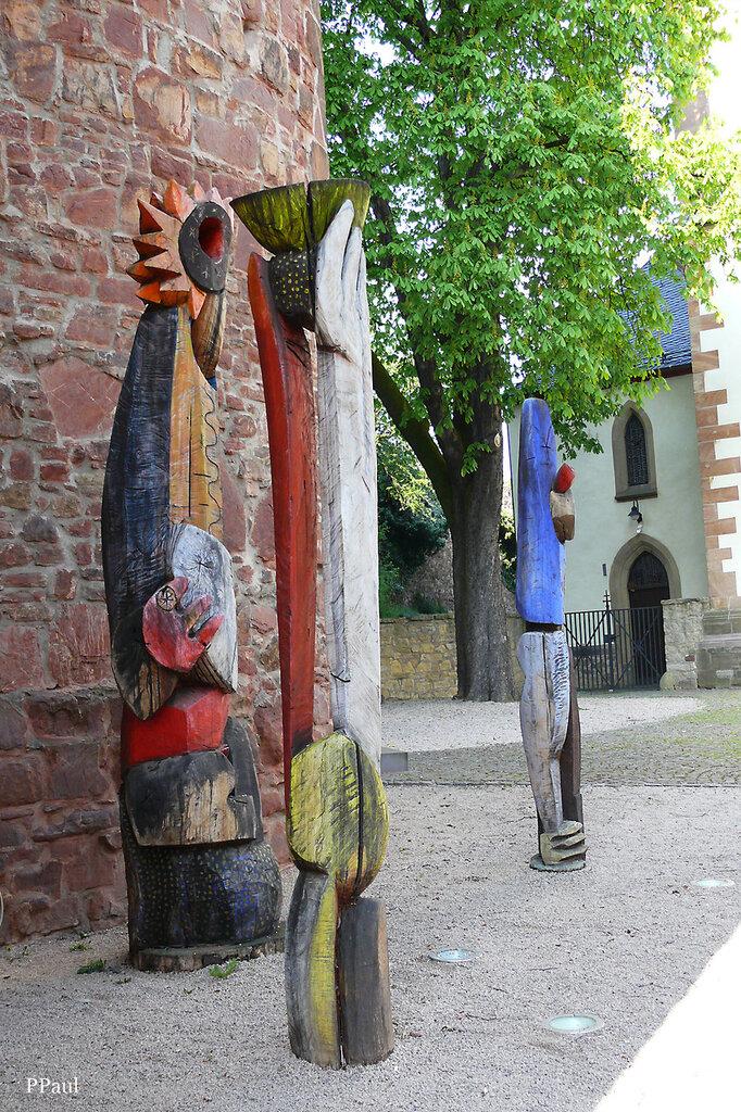 Памятники и скульптуры Ойскирхена (Германия)