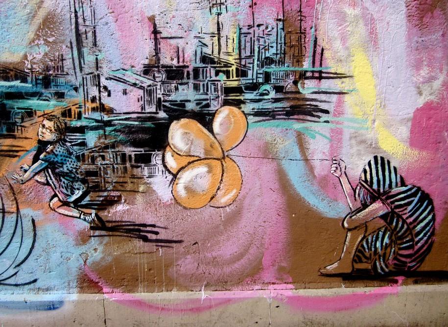 Стрит-арт от Алисы Пасквини