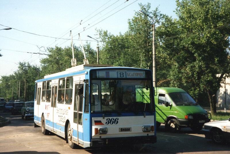 Знаменитая Шкода, 1997, фото А.Оландера