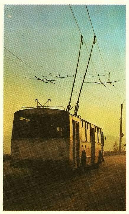 Троллейбус в Белгороде, начало 1980-х
