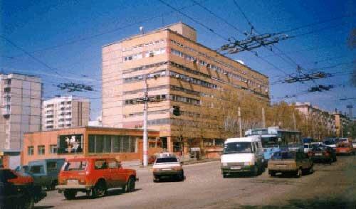 Троллейбус на Богданке, конец 90-х