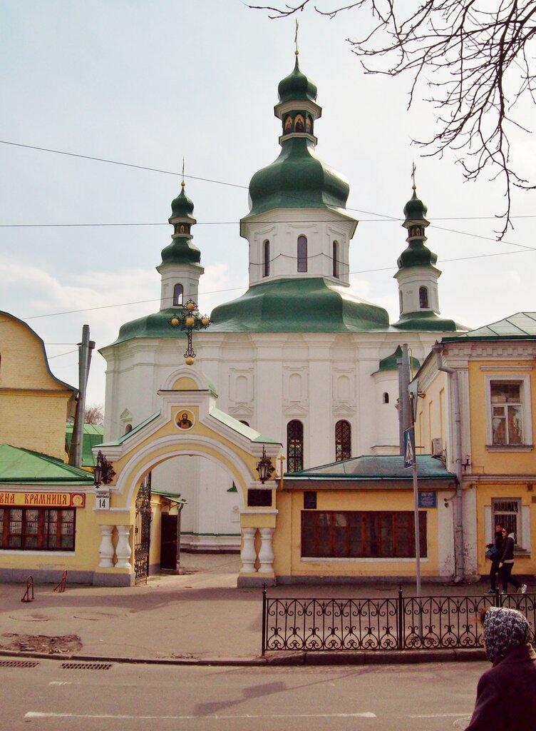 Церковь Феодосия Печерского