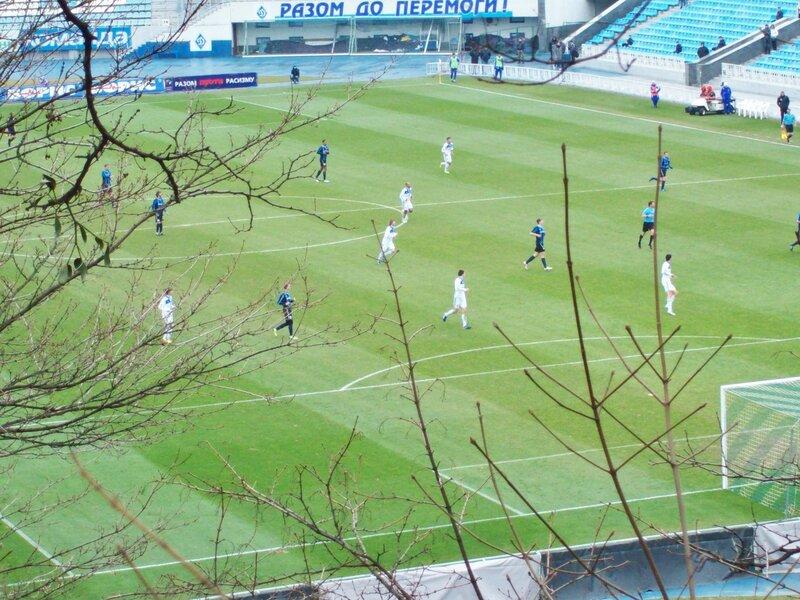 Футбол на стадионе Динамо