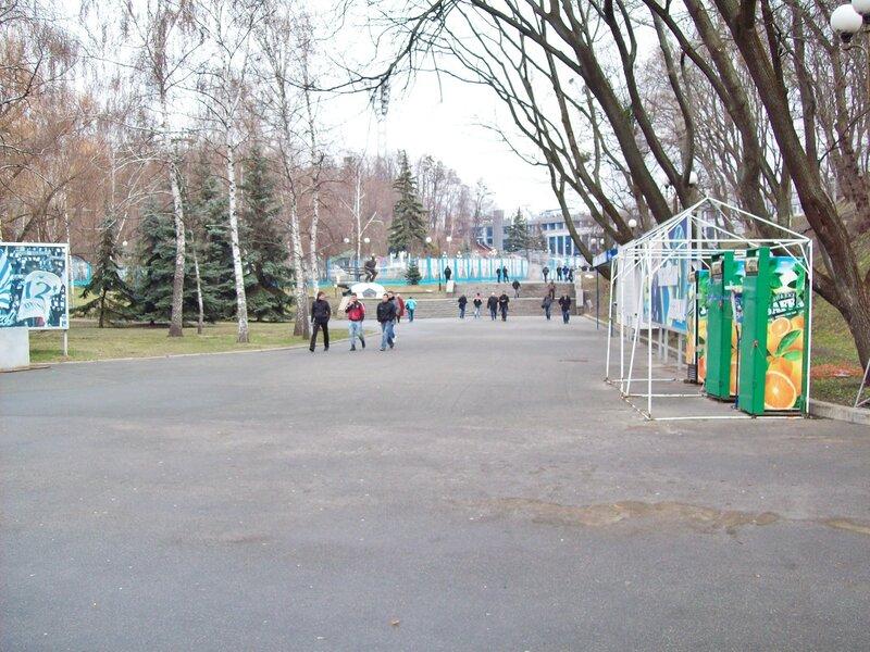 Территория стадиона Динамо