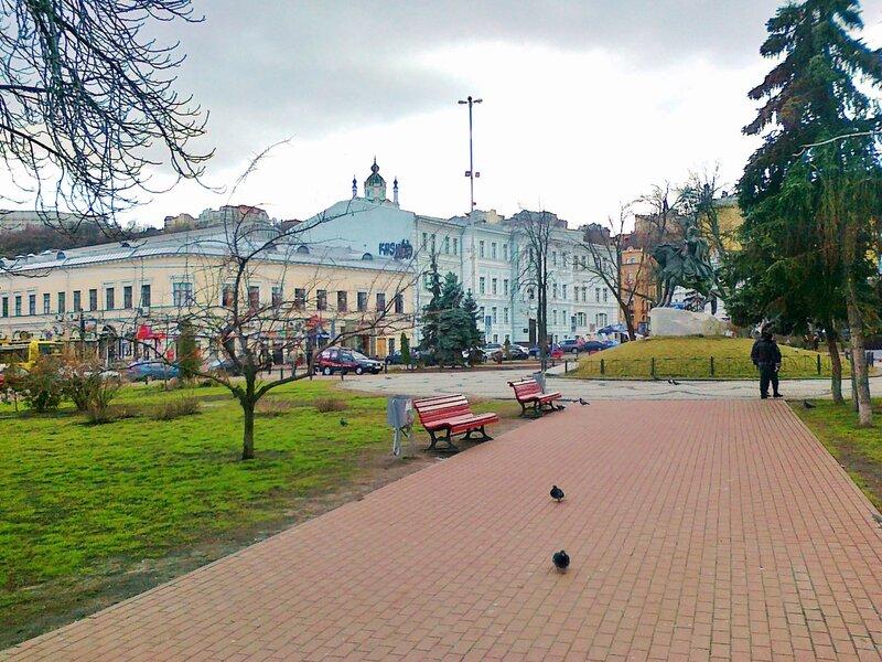 Сквер на Контрактовой площади