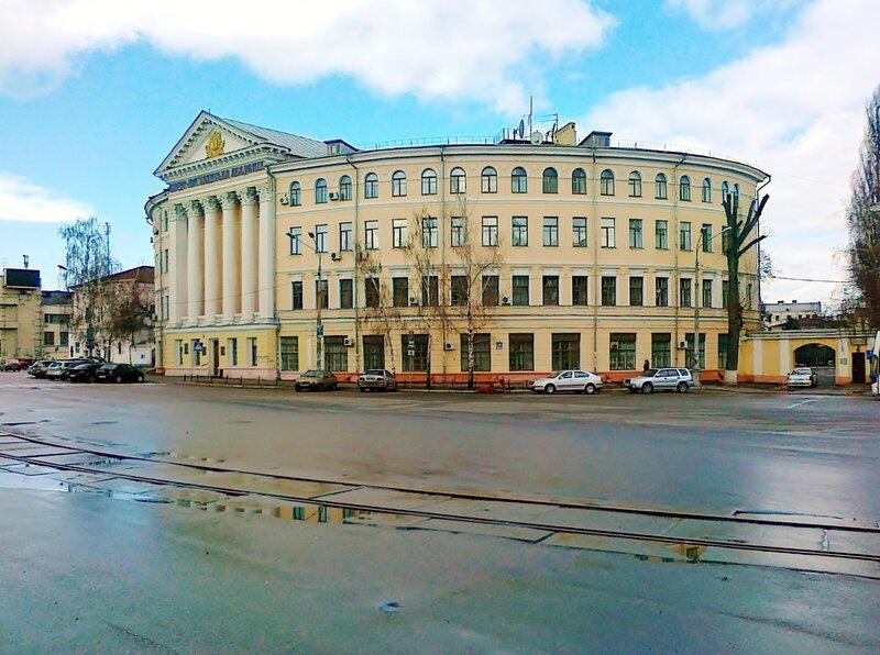 Здание Могилянской академии